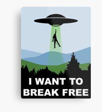 I Want to Break Free - Freddie Returns to Mercury Metal Print