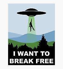 I Want to Break Free - Freddie Returns to Mercury Photographic Print