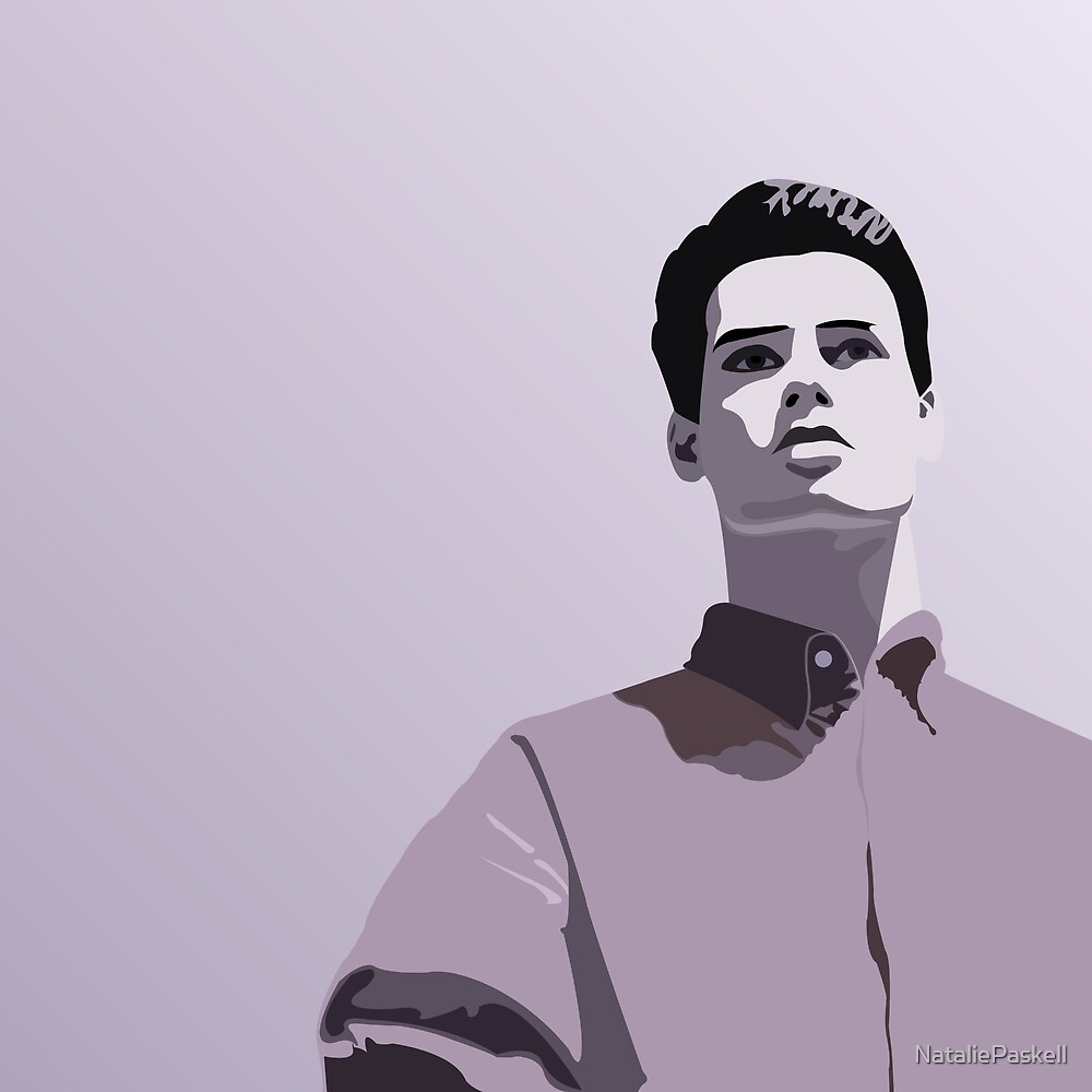 Model Man A (Purple Hue) by NataliePaskell