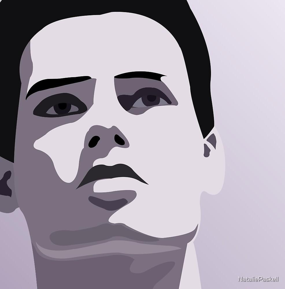 Model Man A (Purple Hue) II by NataliePaskell