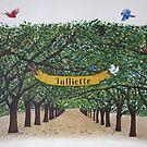 Fairy tale mural by Valentina Abadia Henao