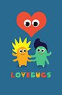LoveBugs Valentine Day Heart Design by shufti