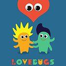 LoveBugs Valentine Day Heart Design by shufti