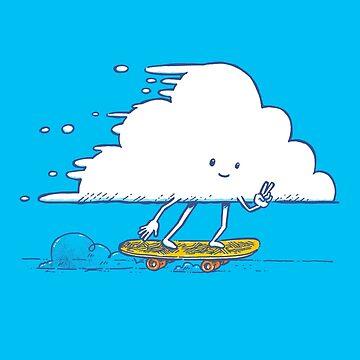 Cloud Skater by nickv47