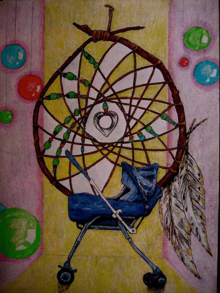 """Dreamcatcher -  but I have HORRIBLE dreams."" by Dan Rychlec"