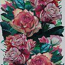 Roses by Tatyana Binovskaya