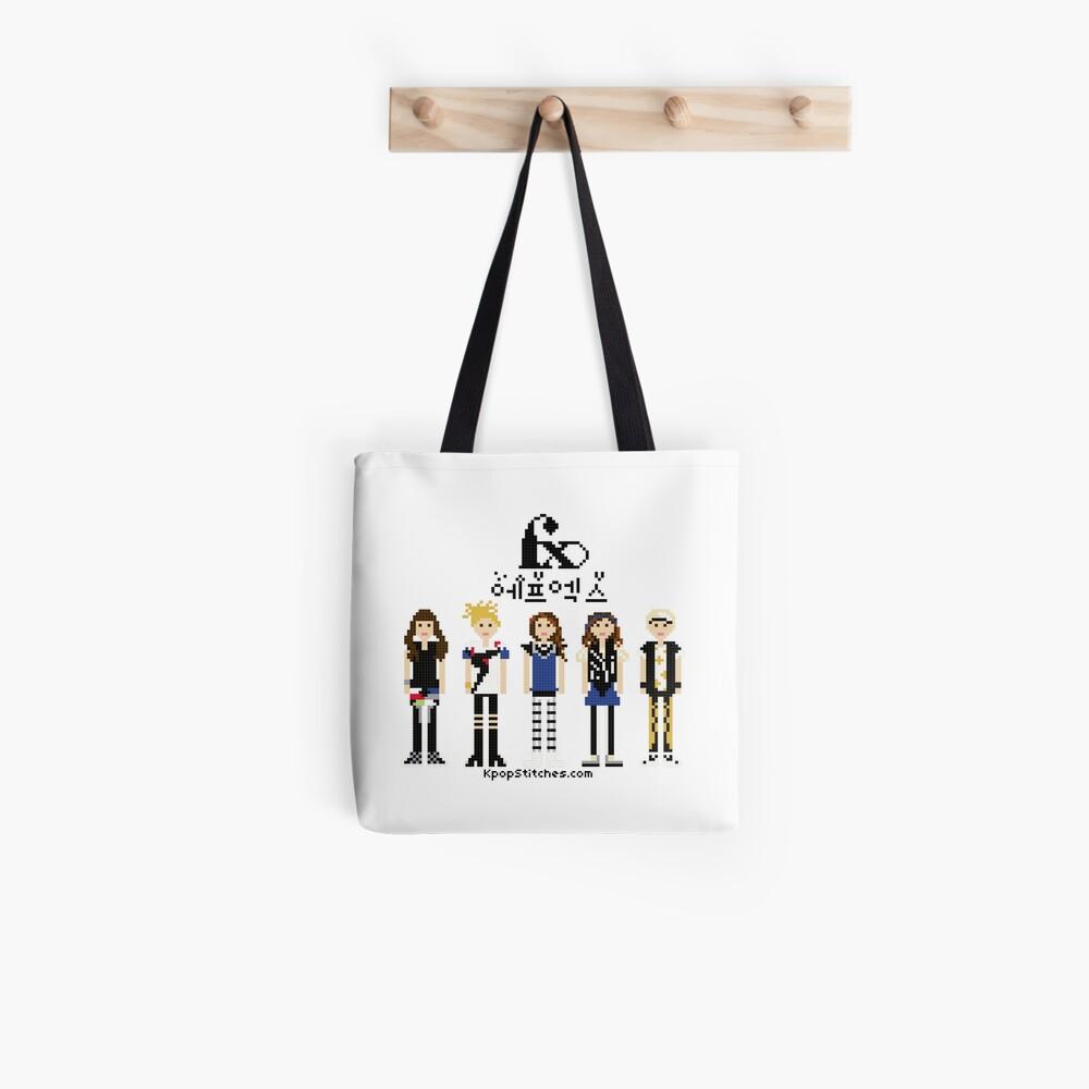f(x) FX Pinocchio Danger 피노키오(Danger) Pixel people Kpop Tote Bag