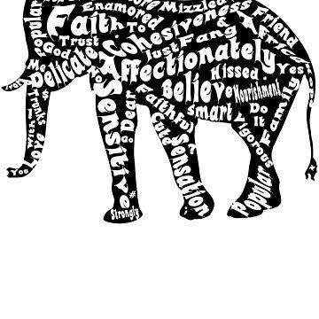 Elefant Afrika Rettet den Mastodon von gdimido