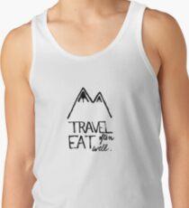 Travel often, eat well Tank Top