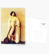 Clara Bow, Vintage Schauspielerin Nude Postkarten