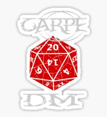 Carpe DM Sticker