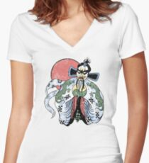 JACK BURTON- BIG TROUBLE IN LITTLE CHINA Women's Fitted V-Neck T-Shirt