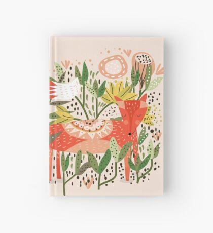 Happy Fox Tale Hardcover Journal