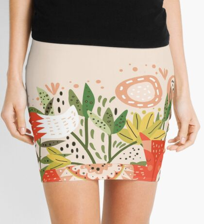 Happy Fox Tale Mini Skirt