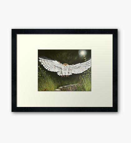 Ghost hunter Framed Print