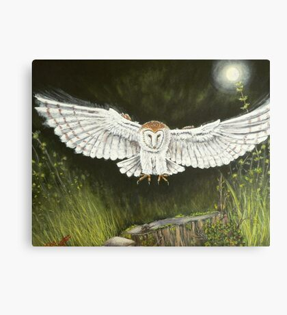 Ghost hunter Canvas Print