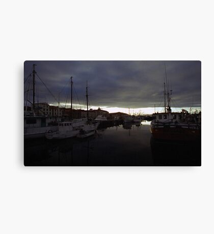 Hobart Harbour Sunrise Canvas Print