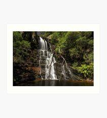 Kalang Falls Art Print