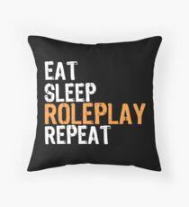 Eat Sleep ROLEPLAY Repeat Floor Pillow