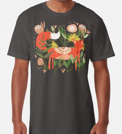 Happy Fox Tale Long T-Shirt