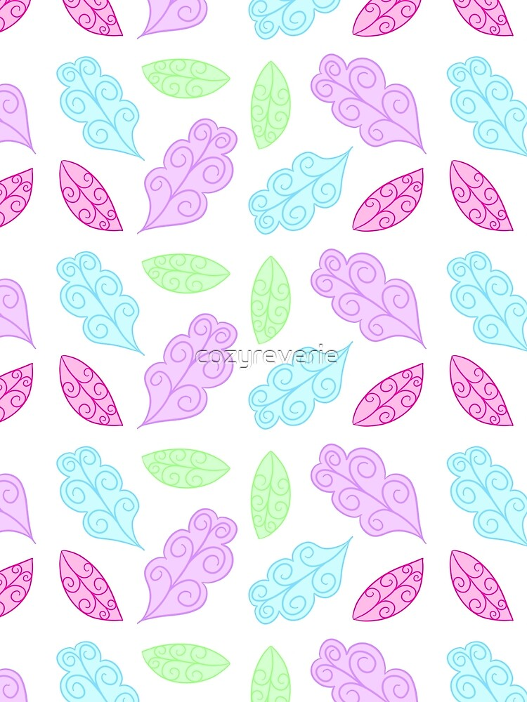 Pastel Leaves by cozyreverie