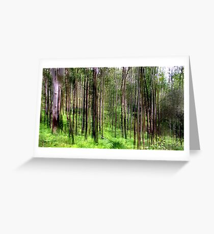 Rainforest Lines Greeting Card
