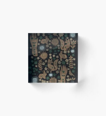 Nightlife Elements Acrylic Block