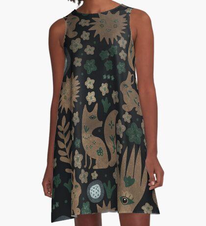 Nightlife Elements A-Line Dress