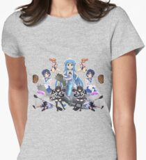 Anime Hunter Jacob Womens Fitted T-Shirt