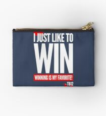 Limited Edition New England Patriots Tom Brady's Famous Quote TB-12 Shirts, Mugs & Hoodies Zipper Pouch