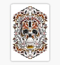 INSECTS SKULL Sticker