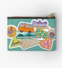 Asheville Sticker Collection Studio Pouch
