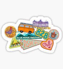 Asheville Sticker Collection Sticker