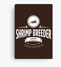 Shrimp Breeder - Expert Canvas Print
