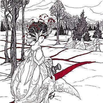 caminos de cinta roja de jessicagadra