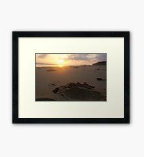 Sand. Framed Print