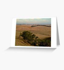 Barrabool Hills Farmlands Greeting Card