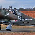 Boomerang, WW2 Australian Fighter by bazcelt