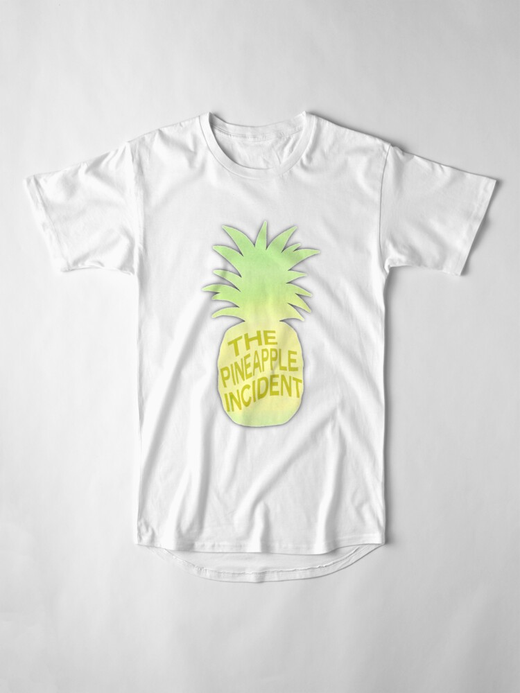 Vista alternativa de Camiseta larga El incidente de la piña