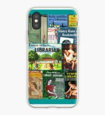 Bibliothekare auf Bücher iPhone-Hülle & Cover