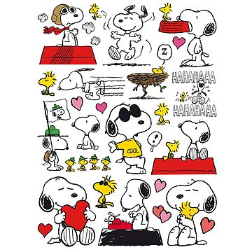 Snoopy and Woodstock super friends set by GSunrise