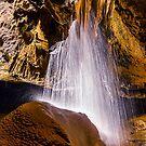 Tuckaleechee Caverns Waterfall by Jonicool