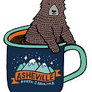 Asheville Bear Cup by Annie Riker