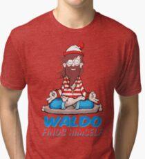 Where's Waldo Tri-blend T-Shirt