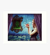 The fairest of them all Art Print