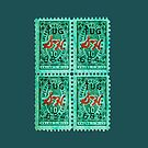 Green Stamps by DWPhoenix