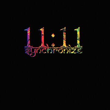11:11 Synchronize  by DanJohnDesign