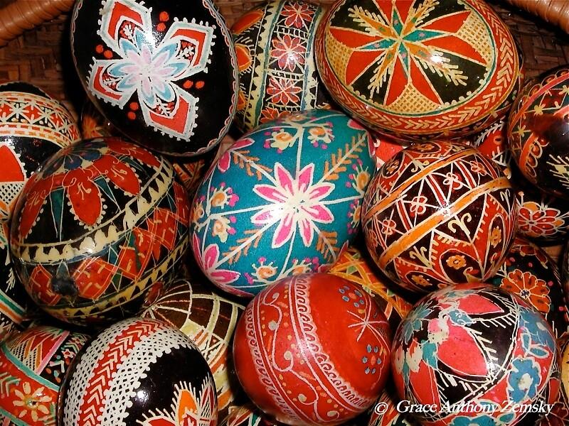 Ukrainian Easter Eggs by Grace Anthony Zemsky