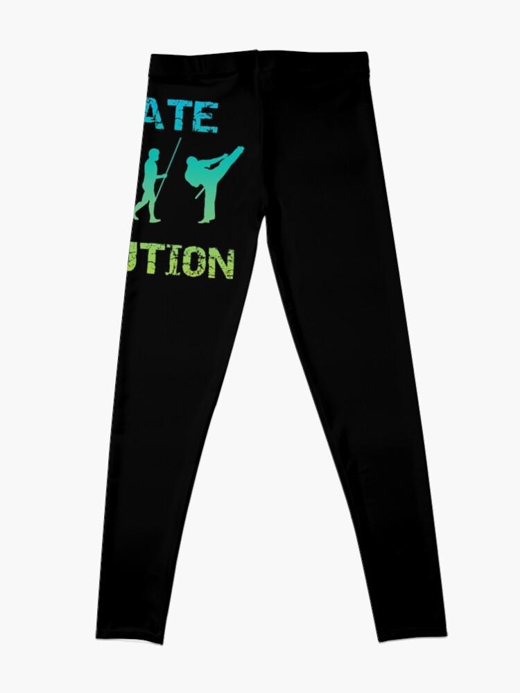 Alternative Ansicht von Karate Evolution Kampfsport Leggings