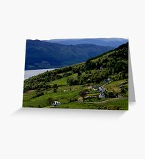 Abriachan, Inverness-shire, overlooking Loch Ness Greeting Card
